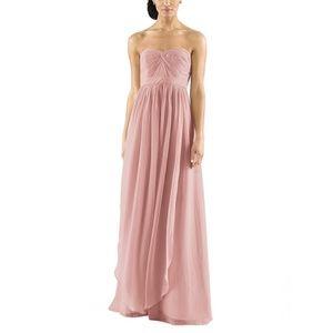 Jenny Yoo Aidan Convertible Dress in Rosewater